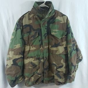 Nato Long Sleeve Cold Weather Coat Camouflage Sz S